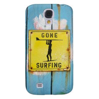 Gegaan het surfen hoesje - Levendige HTC Galaxy S4 Hoesje