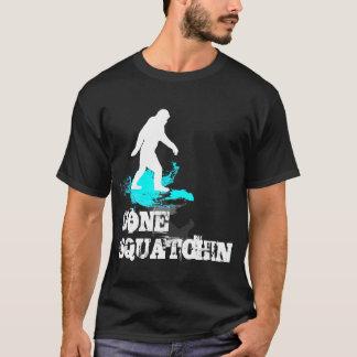 Gegaane Squatchin met logo Bigfoot T Shirt