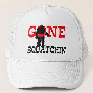 Gegaane Squatchin Opgesloten Bigfoot Trucker Pet