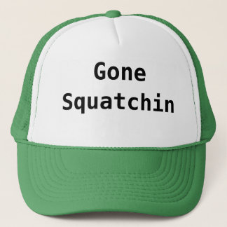 Gegaane Squatchin Trucker Pet