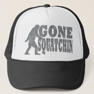 Gegaane squatchin zwarte tekst & bigfoot trucker pet