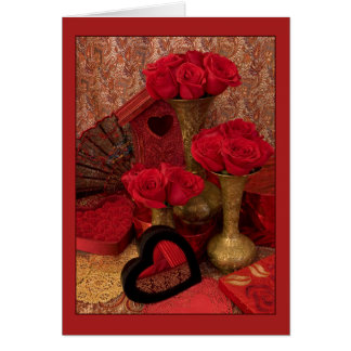 Gegrenste rozen I Kaart