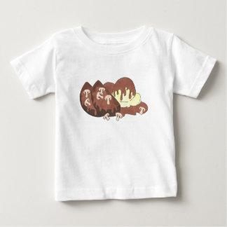 Gehaktbrood Meat Loaf met het Voedsel van de Jus Baby T Shirts