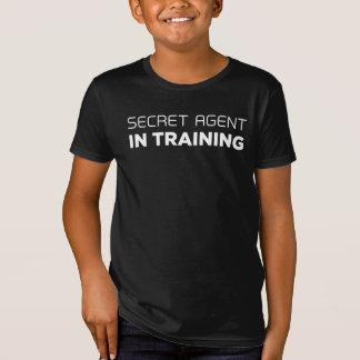 Geheimagent in de T-shirt van de Opleiding