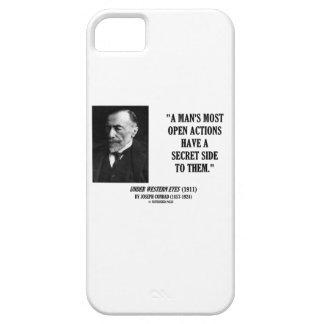 Geheime Kant van de Acties van het Man van Joseph Barely There iPhone 5 Hoesje