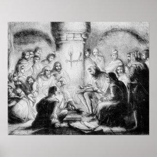 Geheime Studie van de Bijbel van Wycliffe Poster