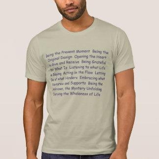 Gehele Menselijke T - shirts - Zijnd het Huidige