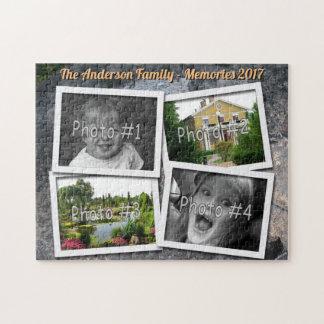 Geheugen 4 van de familie de Rots van de Uitdaging Puzzel