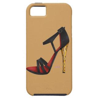 Gehield Gelijk makend iPhoneSE van het Sandelhout+ Tough iPhone 5 Hoesje