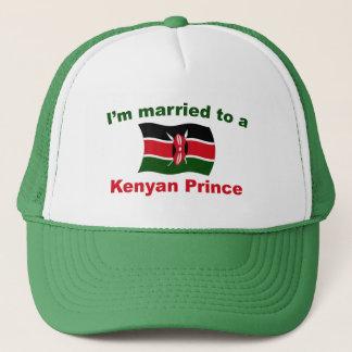 Gehuwd aan een Keniaanse Prins Trucker Pet