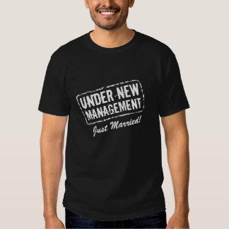 Gehuwde enkel t-shirt | onder nieuw beheer