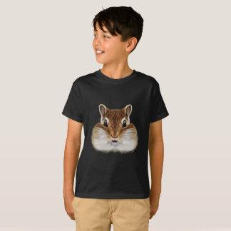 Geïllustreerd portret van Chipmunk. T Shirt