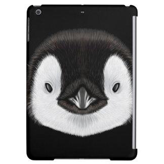 Geïllustreerd portret van de pinguïnkuiken van de