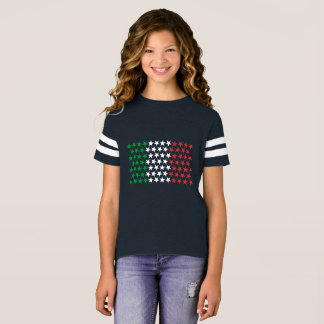 Geïnspireerd door Italiaanse Vlag. De Uitgave van T Shirt