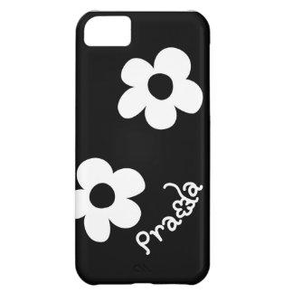 Geïnspireerde de bloemportefeuille van PRADA case* iPhone 5C Hoesje