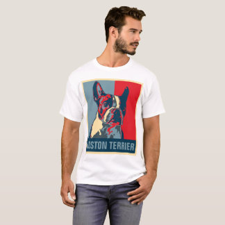 Geïnspireerde de Hoop van Boston Terrier T Shirt