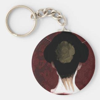 Geisha Keychain Sleutelhanger