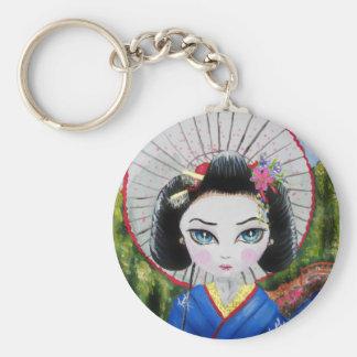 geisha meisje sleutelhanger