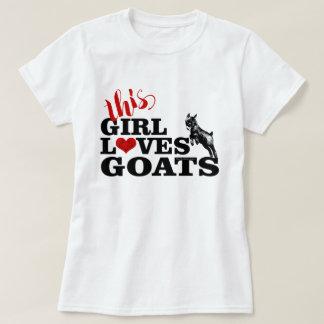 GEIT   Dit Meisje houdt van Pygmy Baby van Geiten T Shirt