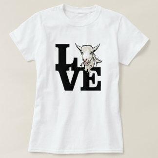 GEIT   Retro L O V euro Geen Hoornen T Shirt