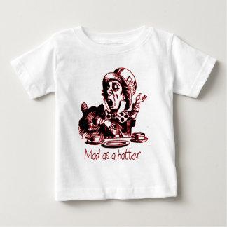 Gek als Kleding van de Hoedenmaker Baby T Shirts
