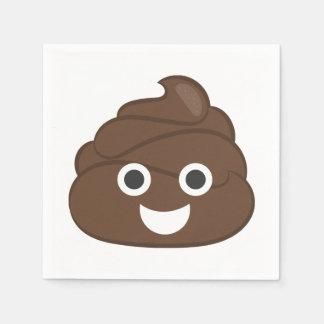 Gek Gekke Bruin Achterschip Emoji Papieren Servet