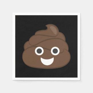 Gek Gekke Bruin Achterschip Emoji Wegwerp Servetten