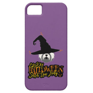 Gek Halloween Shih Tzu Dame Shih Tzu Mom Barely There iPhone 5 Hoesje