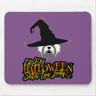 Gek Halloween Shih Tzu Dame Shih Tzu Mom Muismatten