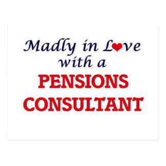 Gek in liefde met een Adviseur van Pensioenen Briefkaart
