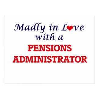 Gek in liefde met een Beheerder van Pensioenen Briefkaart