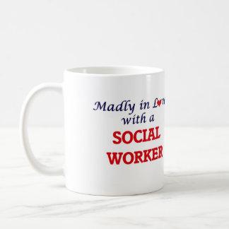 Gek in liefde met een Maatschappelijk werker Koffiemok