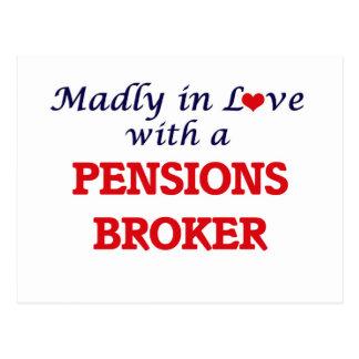 Gek in liefde met een Makelaar van Pensioenen Briefkaart