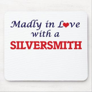 Gek in liefde met een Zilversmid Muismat