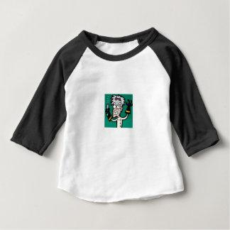 gek man van wetenschap baby t shirts