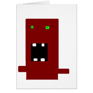 gek monster #2 kaart
