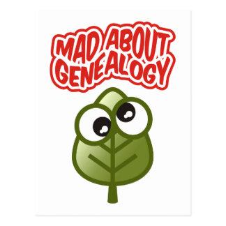 Gek over Genealogie Wenskaart
