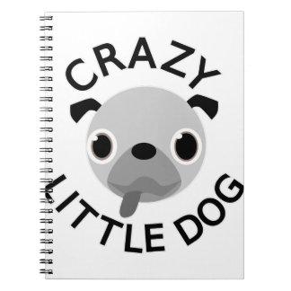 Gek Pug Weinig Hond Notitieboek