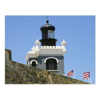 Gekartelde het grijs van San Felipe del Morro's Briefkaart