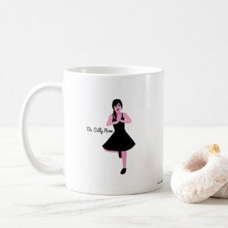 Gekke ben nu overvallen koffiemok