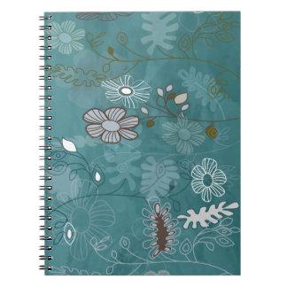 Gekke bloemen notitieboek