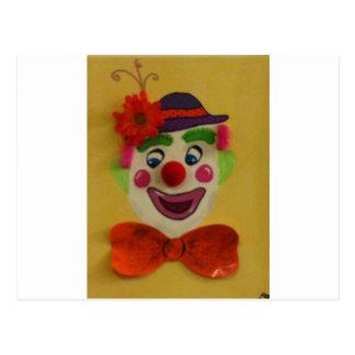 Gekke Clown Briefkaart