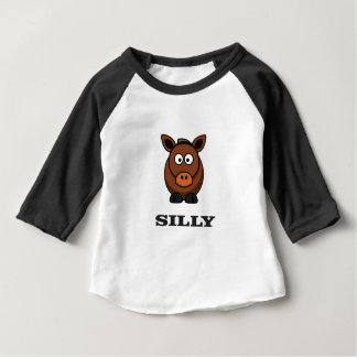 gekke ezel baby t shirts