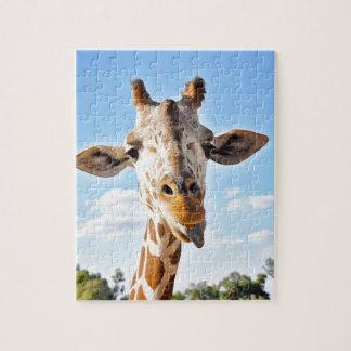 Gekke Giraf Puzzel