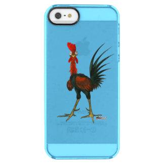 Gekke Haan Doorzichtig iPhone SE/5/5s Hoesje