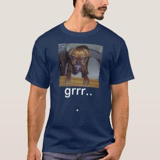 gekke hond, grrr… t shirt