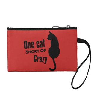 Gekke Kat Dame Funny Meow Wristlets Cosmetic Zak