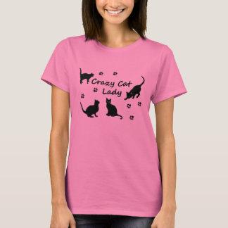 Gekke Kat Dame Shirts