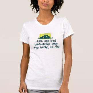 Gekke Kat Dame T-shirt