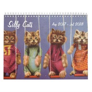 Gekke Katten en Katjes - Augustus 2017 - Juli 2018 Kalender